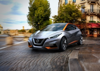 Nissan Sway Concept  เผยร่างต้นแบบว่าที่  New Nissan  March