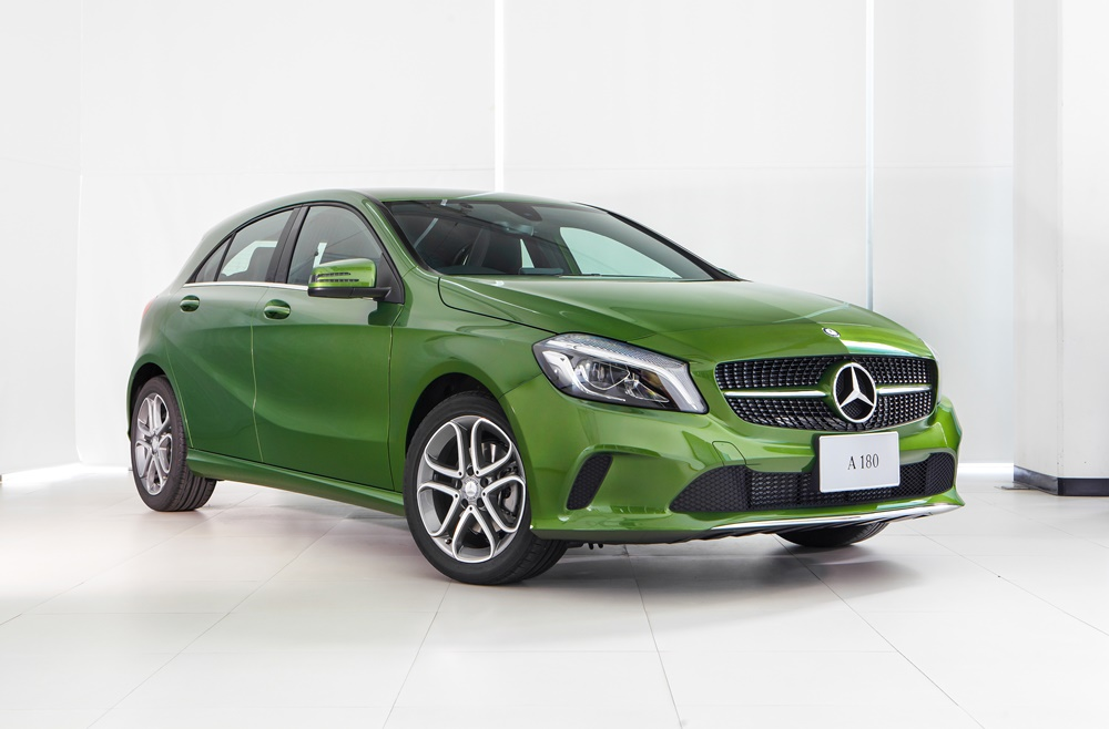 Mercedes benz the new a 180 style for Mercedes benz styles