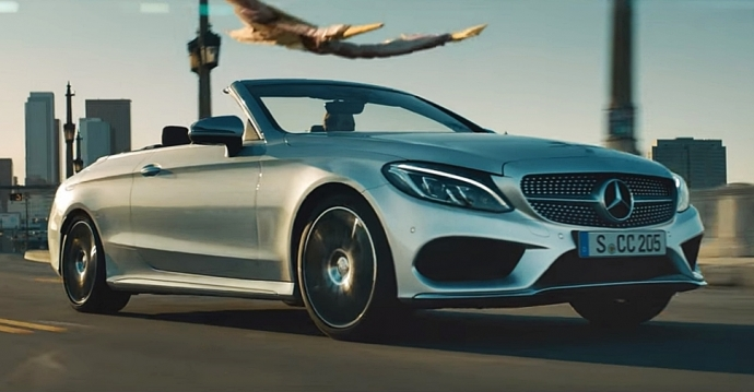 "The new C-Class Cabriolet  ""Amazed again"""