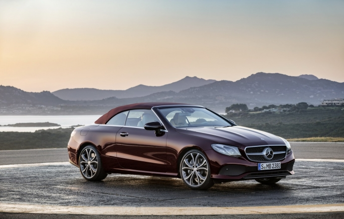 All New Mercedes-Benz E-Class Cabriolet ตัวหรูเปิดประทุน จากเยอรมัน