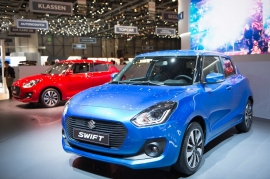 All New Suzuki Swift Euro-Spec