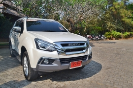 The New ISUZU MU-X Press Trip