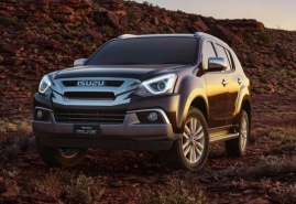 New ISUZU MU-X AU-Spec