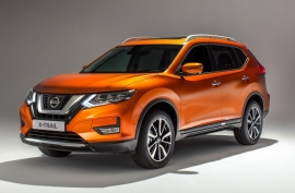 Nissan X-Trail Facelift EU-Spec