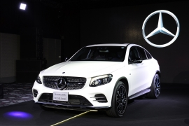 ภาพงานเปิดตัว The Mercedes-Benz GLC Coupe - CKD Verision