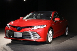 ภาพงานเปิดตัว All New Toyota Camry JP-Spec By Carwatch