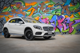 The Mercedes-Benz GLA