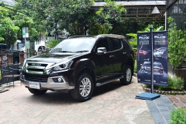 The New ISUZU MU-X Privileged Press Trip