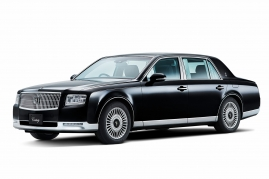 All New Toyota Century