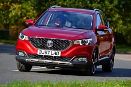 New MG ZS RHD By Autoexpress