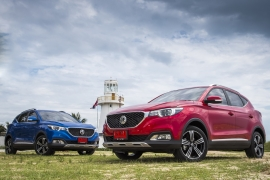 Hands On : MG ZS