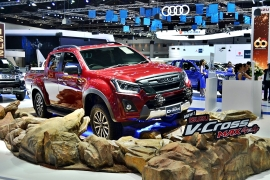 New ISUZU D-MAX Blue Power V-Cross 4X4 - Motor Expo 2017