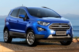 2018 Ford EcoSport Facelift AU-Spec