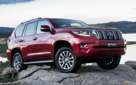 2018 Toyota Land Cruiser Prado - AU Spec