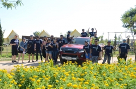 New ISUZU D-MAX Blue Power Press Trip At Chiangrai