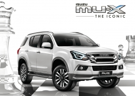 New ISUZU MU-X THE ICONIC