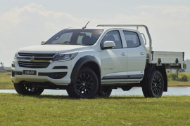 2018 Holden Colorado LSX