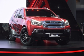 The new ISUZU MU-X Blue Power Special - BIMS 2018