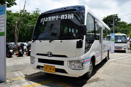 All New Toyota Coaster - Thai Spec