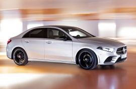 All New Mercedes-Benz A-Class Sedan - SWB