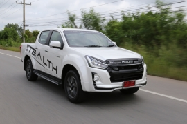 New ISUZU D-MAX STEALTH Press Trip