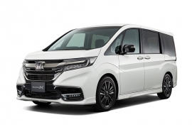 Honda StepWgn Modulo X  New Look