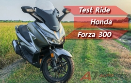 Test Ride: All New Honda Forza 300
