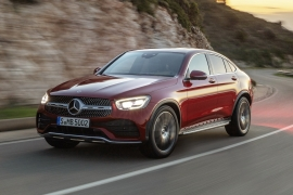 Mercedes-Benz GLC Coupe Facelift