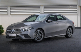 ภาพรถยนต์ The new Mercedes-Benz A-Class