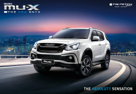 NEW !! ISUZU MU-X THE NEW ONYX