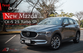 Test Drive : Mazda CX-5 2.5 Turbo SP AWD