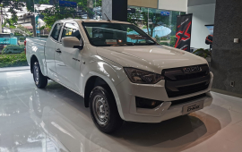 All New ISUZU D-MAX Spacecab 1.9 S Auto