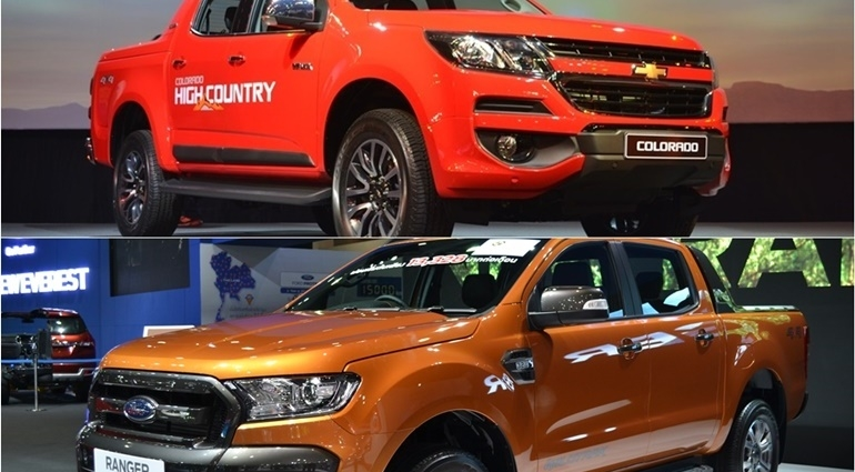 Deft Versus : New Chevrolet Colorado VS Ford Ranger จับชน 2 กระบะแกร่งจากแดนมะกัน