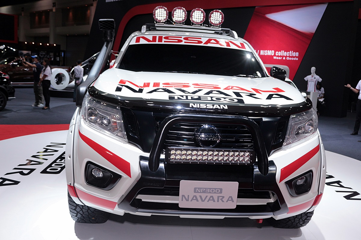 nissan navara offroader concept nismo. Black Bedroom Furniture Sets. Home Design Ideas