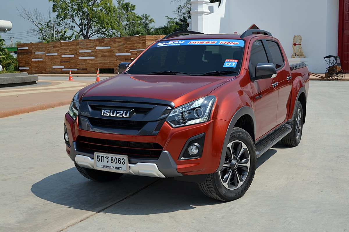 ISUZU D-MAX Press Trip