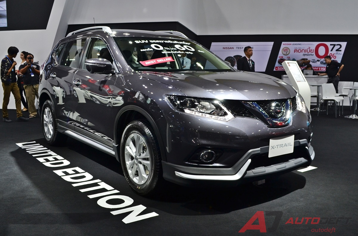 nissan x trail limited edition. Black Bedroom Furniture Sets. Home Design Ideas
