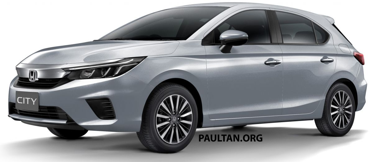 render Honda City Hatchback