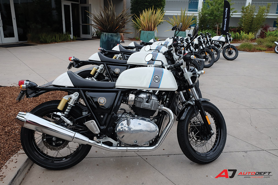 Royal Enfield Continental GT 650 และ Interceptor INT 650