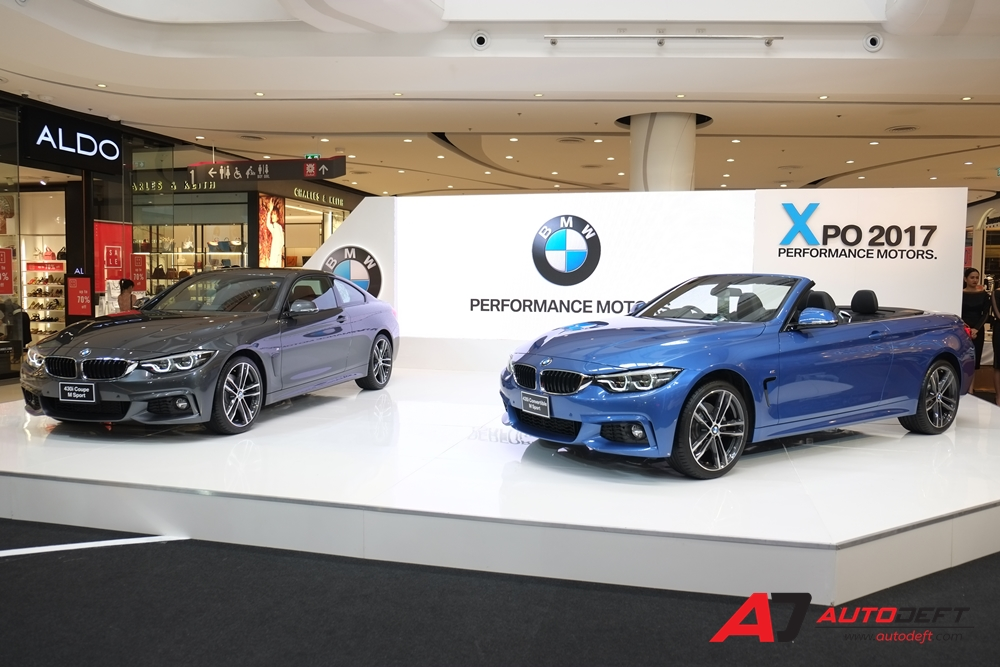 BMW 430i Coupe M Sport และ BMW 430i Convertible M Sport