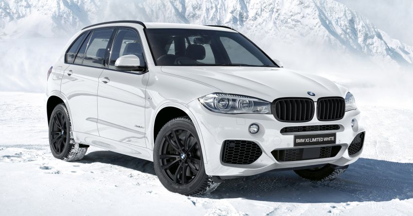 BMW X5 Limited Black and White Edition