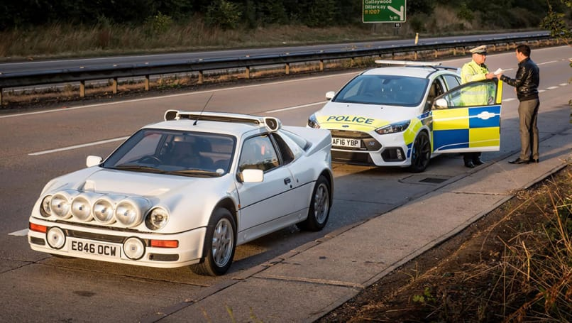 Ford RS200, Focus RS