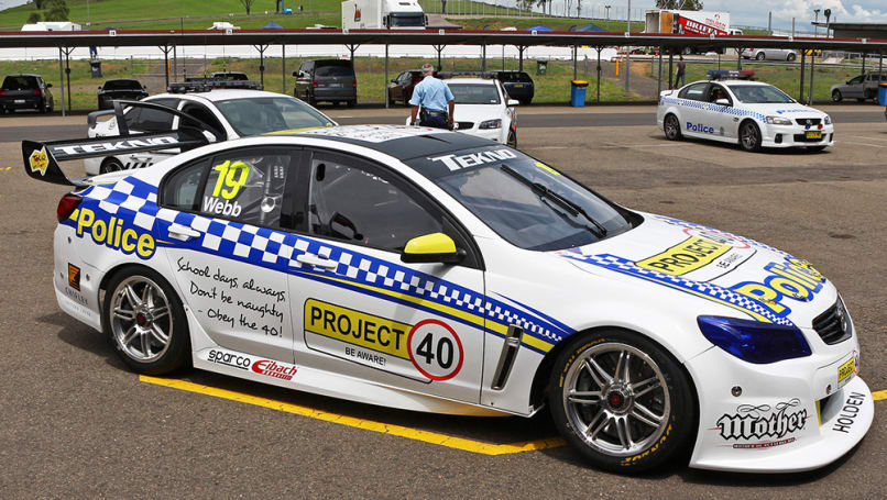 Holden Commodore VF V8 Supercar
