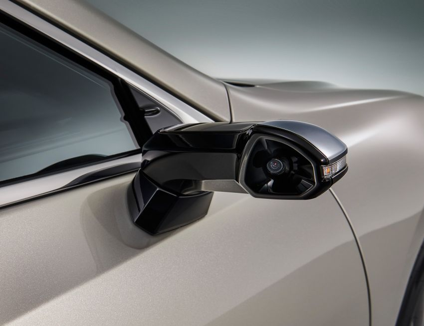 Digital Outer Mirrors Lexus ES