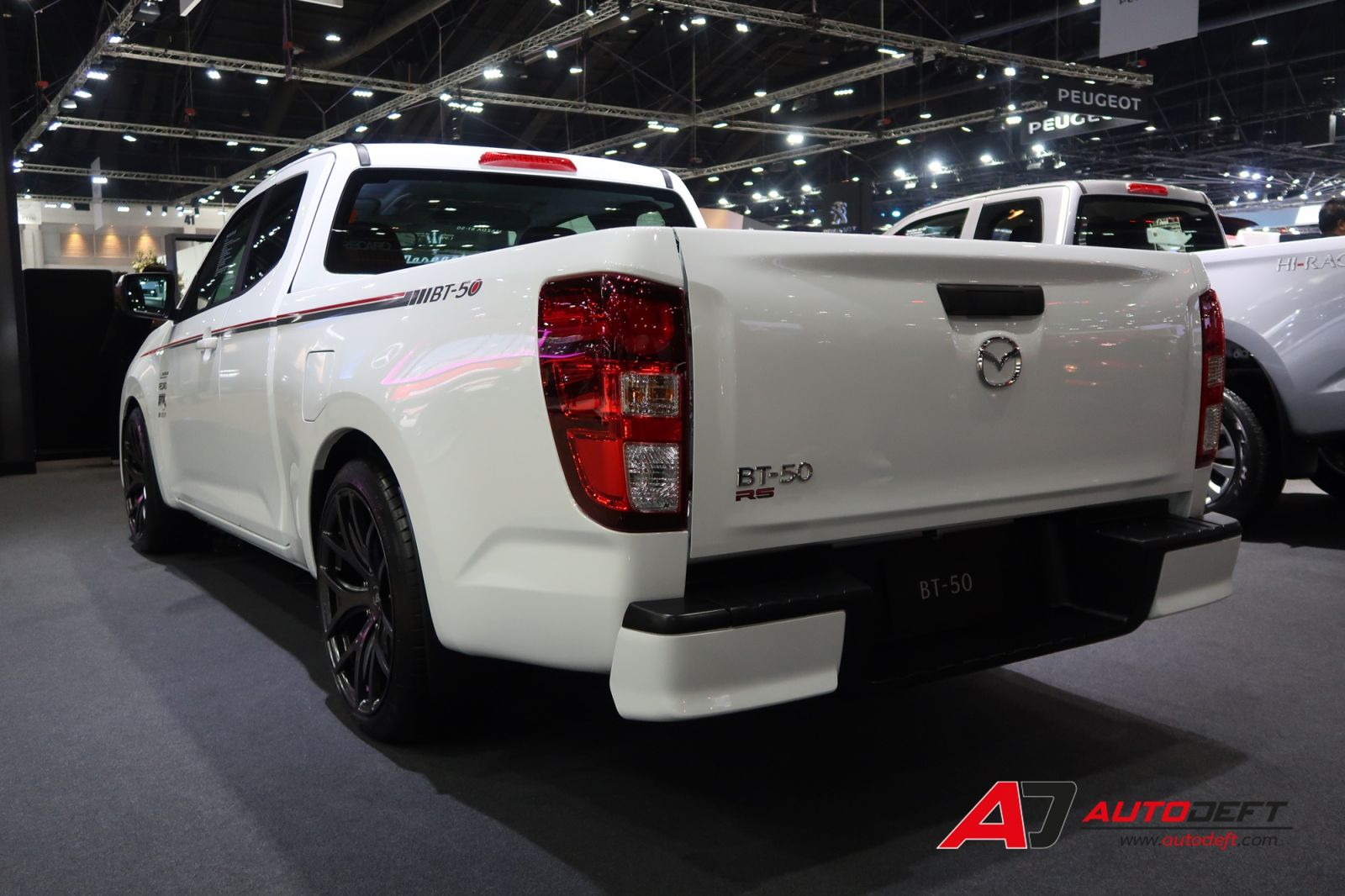Mazda BT-50 with RECARO