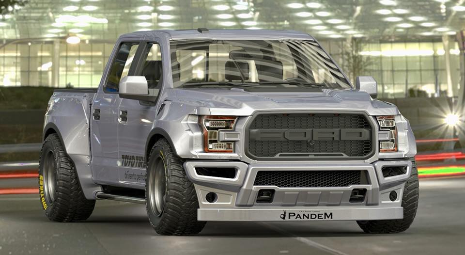 Pandem Ford Raptor bodykit