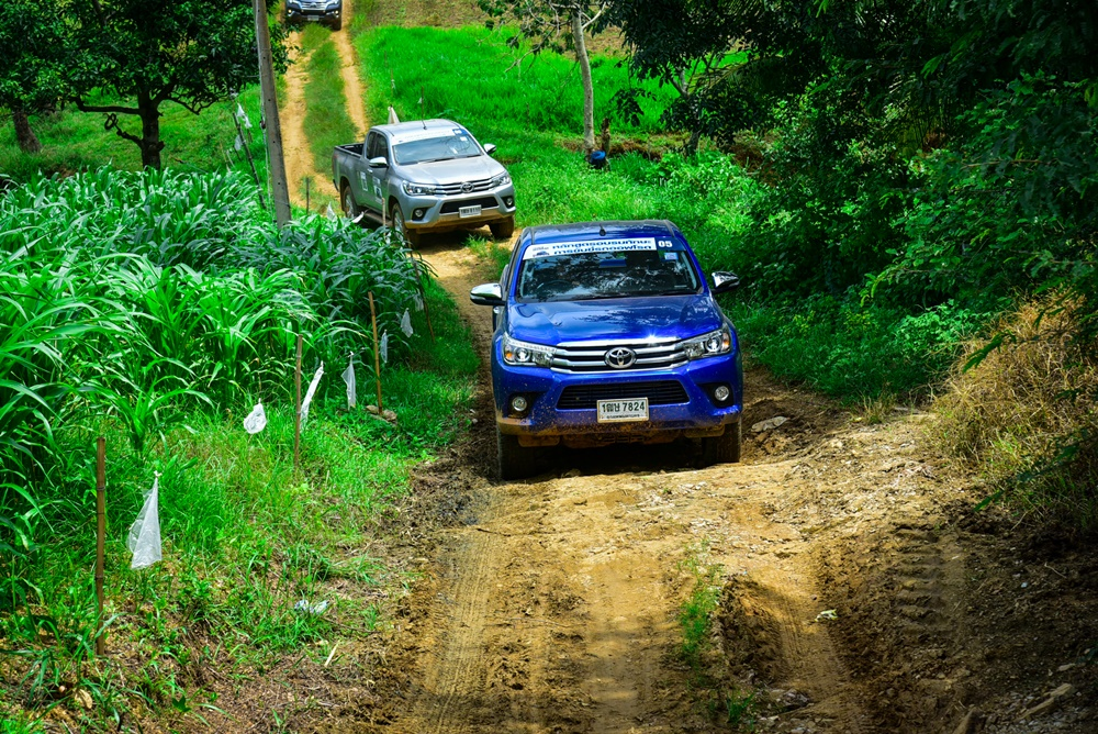 TOYOTA OFFROAD TRAINING