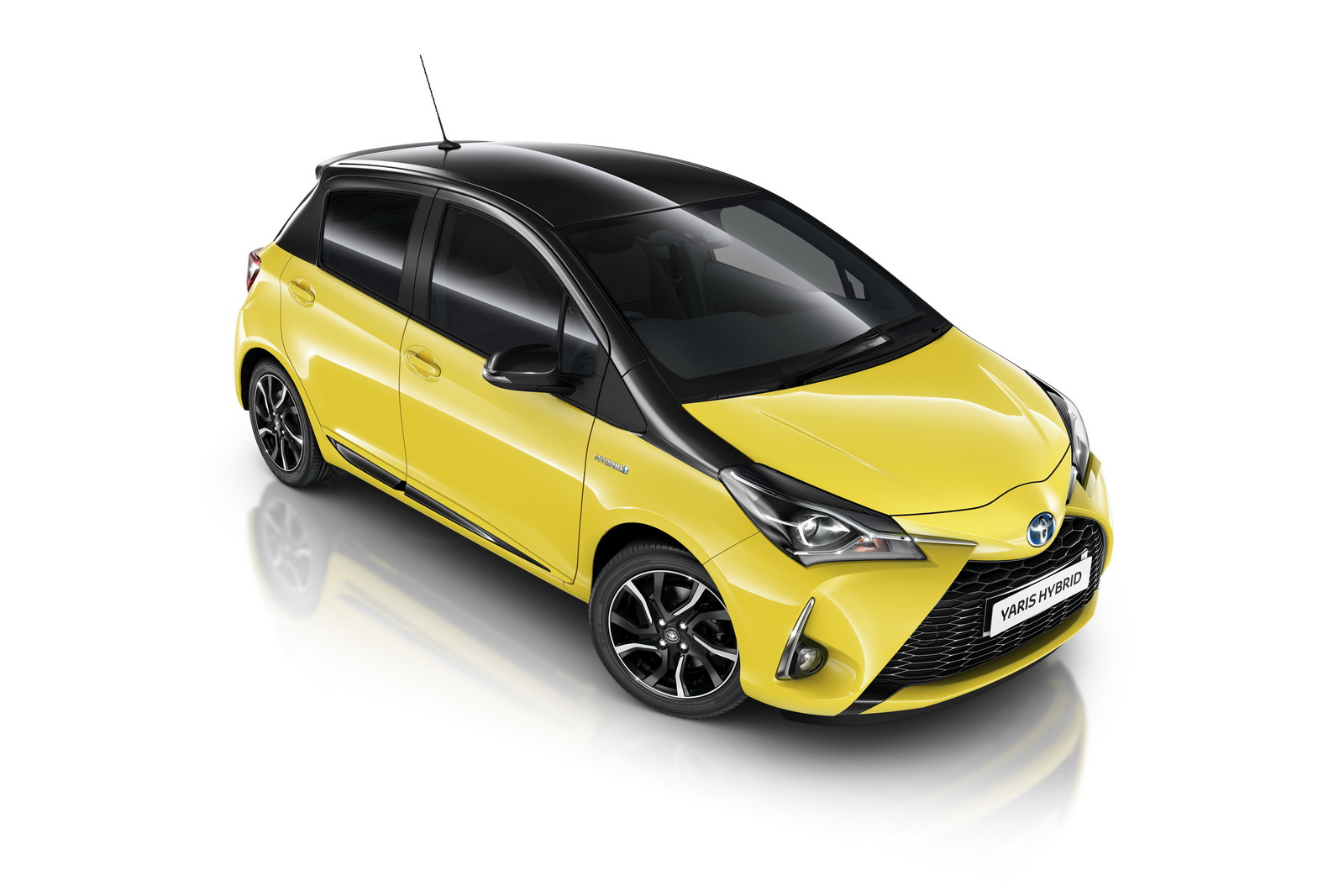 Toyota Yaris Yellow Edition Bi-tone